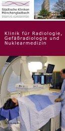 Klinik für Radiologie, Gefäßradiologie und Nuklearmedizin