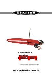 Manual Zero Drag FR - Skyline - Flightgear