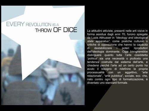 Every revolution is a throw of dice - Timea Anita Oravecz
