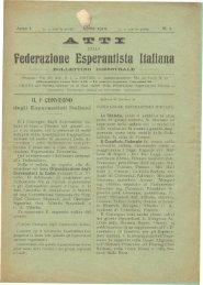 atto di fondazione - Federazione Esperantista Italiana