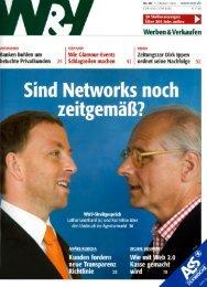Sind Networks noch zeitgemäß?