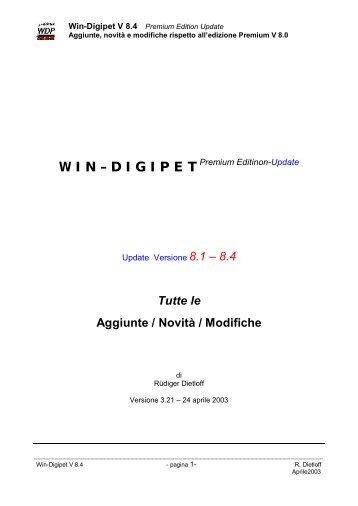 compendio manuale windigipet-ita 8.4.1 - Modeltreno