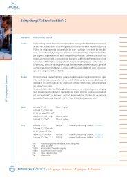 Sichtprüfung (VT) Stufe 1 und Stufe 2 - SLV Halle GmbH