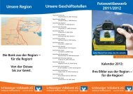 . .. Fotowettbewerb - Schleswiger Volksbank eG