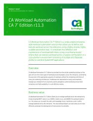CA Workload Automation iXp User Guide - CA Technologies