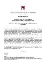 Falsi - Università degli Studi di Torino