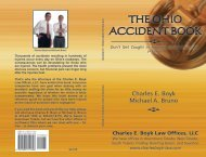 The Ohio Accident Book, Third Edition