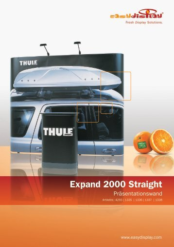 Expand 2000 Straight - Easydisplay.com