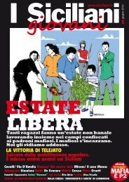 giugno 2012 - I Siciliani giovani