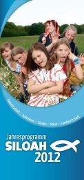 Jahresprogramm - Familienkommunität SILOAH e.V., Metebach
