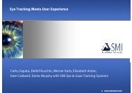 Eye Tracking Meets User Experience - SMI