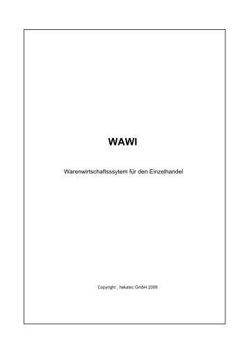 Handbuch WAWI - SMO3