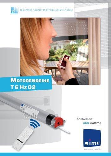Motorenreihe T6 Hz02 - Simu Antriebe