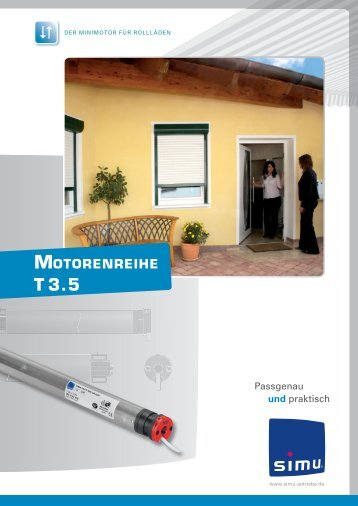 Motorenreihe T3.5 - Simu Antriebe