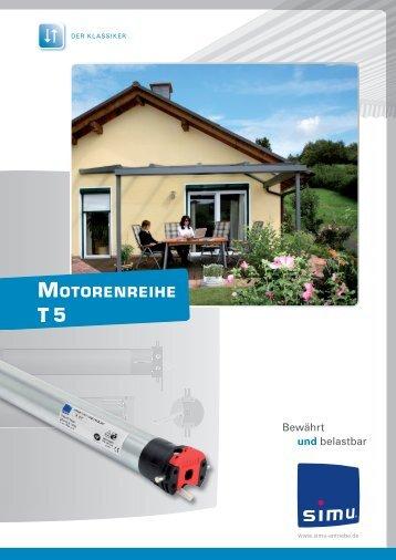 Motorenreihe T5 - Simu Antriebe