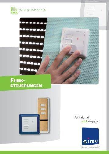 Funksteuerungen - Simu Antriebe