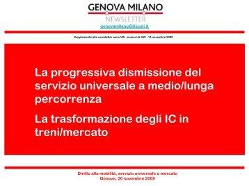 La Progressiva Dismissione Del Servizio ... - Spycomservizi.it
