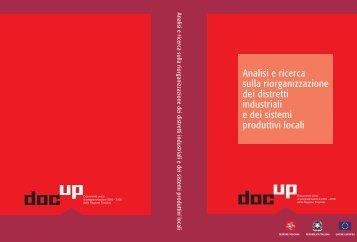 Analisi e ricerca sulla riorganizzazione dei ... - DOCUP Toscana