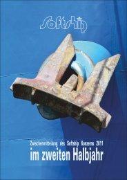 Zwischenmitteilung im zweiten Halbjahr 2011 - Softship AG