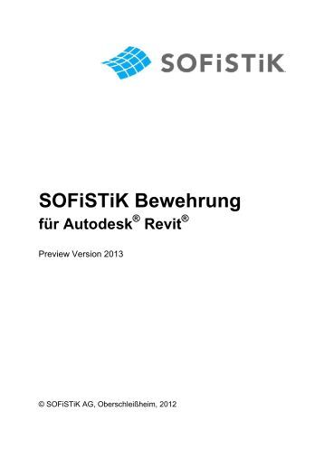 Workshop sofiplus f r autocad einsteiger und sofistik ag for Finite elemente analyse fur ingenieure pdf