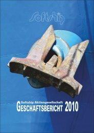 Geschäftsbericht 2010 der Softship AG