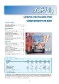 Geschäftsbericht 2008 - Softship AG - Seite 2