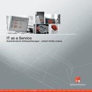 Prosp. IT as a Service 05-09.indd - S+S SoftwarePartner