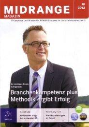 SP-Handel im Midrange Magazin 10/12 - S+S SoftwarePartner