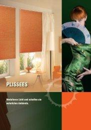 Prospekt Decomatic-Plissees - Solarmatic