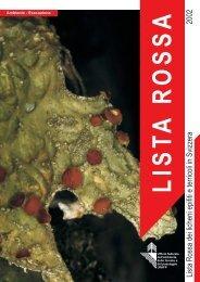 Lista rossa delle specie minacciate in Svizzera - WSL
