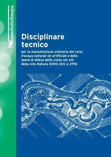 Disciplinare tecnico - ER Ambiente - Regione Emilia-Romagna