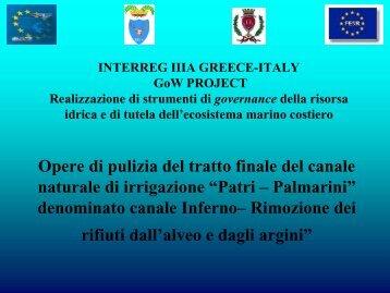 Comune Brindisi Canale Inferno - watergovernance.info