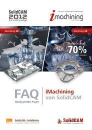 FAQ iMachining von SolidCAM