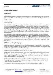 Einkaufsbedingungen - SOLID AUTOMATION