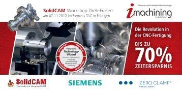 SolidCAM Workshop Dreh-Fräsen Die Revolution in der CNC ...