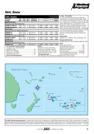 Polynesien - so long yachting