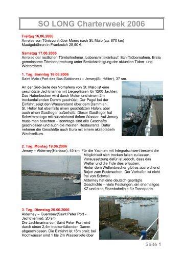 Lothar Wolken - So Long Yachting