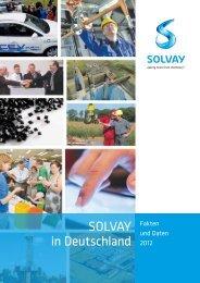 Unternehmensbericht 2012 - Solvay in Deutschland