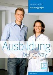 19171 Bewerberbroschüre Ausbildung 07-2010 - Solvay in ...