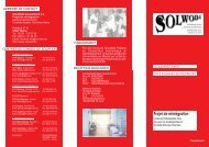 Projet de réintégration - Solwodi