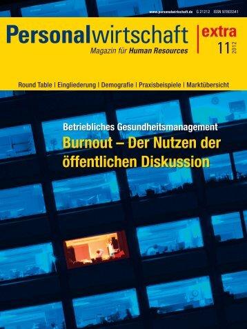 Burnout nachhaltig entgegenwirken - Solution Matrix