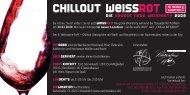 chIllOuT WeISS ROT - Sommelier Union Deutschland eV