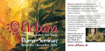 Blumen-Seminare Blumen-Seminare - Sommer - Eisele + Co Gmbh