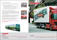 Prospekt - Sommer Fahrzeugbau GmbH & Co. KG