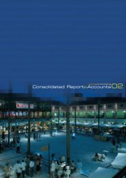 Consolidated Report and Accounts 2002 - Sonae Sierra