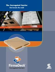 FirmaDeck Corrugated Pallets Brochure - Sonoco