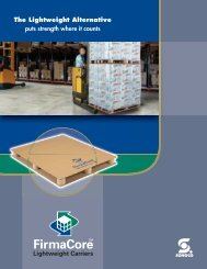 FirmaCore pallet brochure - Sonoco
