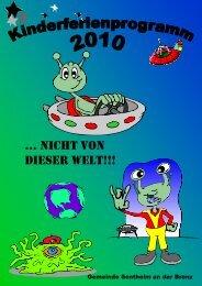 Titelseite Alien - Gemeinde Sontheim an der Brenz