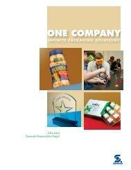 2011-2012 Corporate Responsibility Report - Sonoco