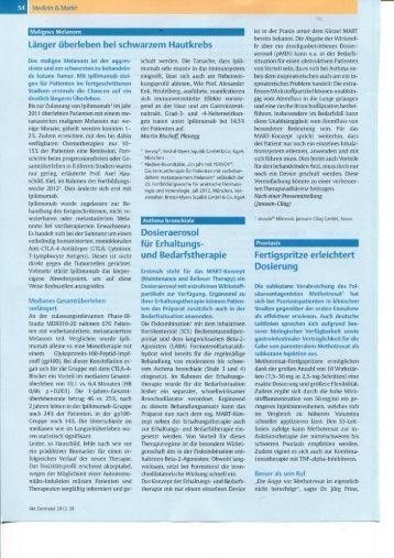 Aktuelle Dermatologie 1/2 2013 - Skin Concept